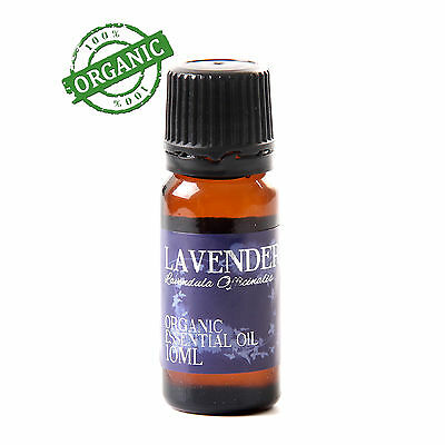 Lavender Organic Essential Oil - 100% Pure - 10ml (CO10LAVE)