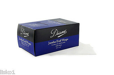 """Diane #8327 Jumbo Perm End wrap papers 1000ct. 2-1/2"""" X 4"""""""
