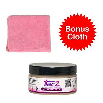 Itac2 Pole Dance Grip 200gm Large Tub Extra Strength aka Level 4 & Pink Cloth