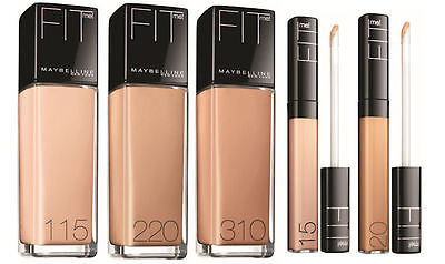 Maybelline Fit Me Foundation Makeup New & Sealed Please Select Shade From Menu