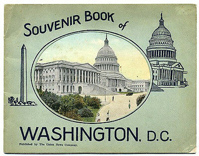 Washington, DC Souvenir booklet - early