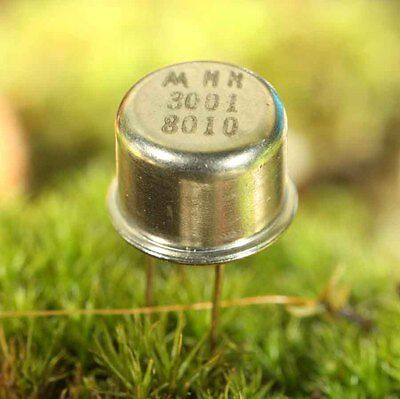 Mm3001 Transistor Haute Tension Silicium Npn 150V 0,2A 1W Boitier Metal To5
