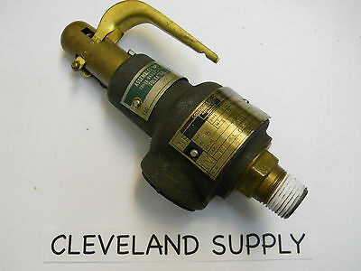 Dresser Consolidated 154 Safety Relief Valve 125 Set Pressure 1 2 Refurbished