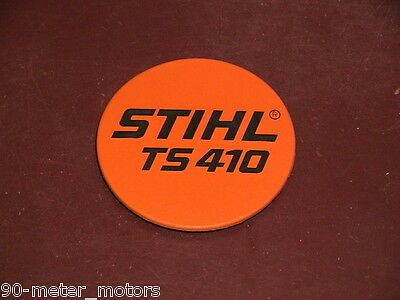 NEW STIHL Concrete Cut-Off Saw Rewind Starter Model Plate Emblem ID Badge TS 410