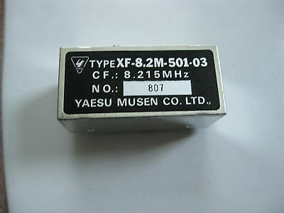 Yaesu XF-8.2M-501-03 500hz CW filter for FT-1000 , FT-1000MP solder in type