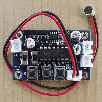 ISD1820 voice board voice module sound recording module W LM386 Amplifier Chip