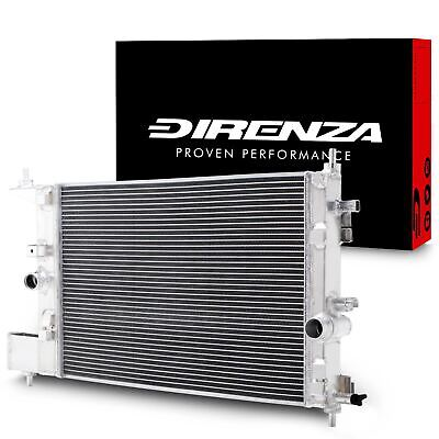 Direnza High Flow Alloy Radiator Rad For Vauxhall Opel Astra J Mk6 Gtc 1.4 Turbo