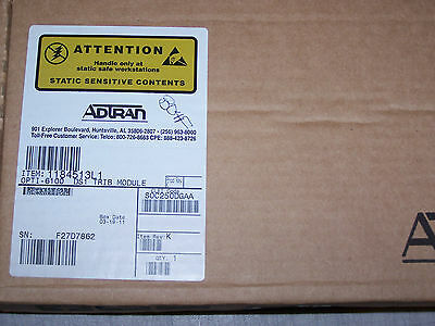 New ADTRAN 1184513L1  OPTI-6100 DS1 TRIB MODULE (1184513L1) New Box