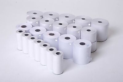 Qty 20 SMCO Receipt Paper Till Rolls FOR Casio 140CR 140-CR  57x57 Grade A