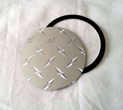 Magnetic Tax Disc Holder Diamond Plate fits mercedes golf and more