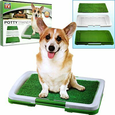 PUPPY POTTY TRAINER INDOOR GRASS TRAINING PATCH - 3 LAYERS
