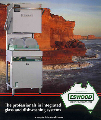 Brand NEW Eswood ES32 pass through dish and glass washer