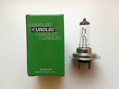 EUROLEC H7 477 499 CAR HALOGEN HEADLAMP HEADLIGHT BULB 12V 55W PX26d DIPPED BEAM