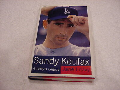Sandy Koufax Biography, A Lefty's Legacy, Los Angeles Dodgers, GREAT READ!