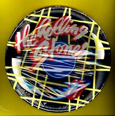 the Rolling Stones 1983 small party plates Tattoo You STILL SEALED