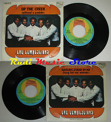 LP 45 7'' THE TEMPTATIONS Darling stand by me Up creek 1976 italy cd mc dvd *
