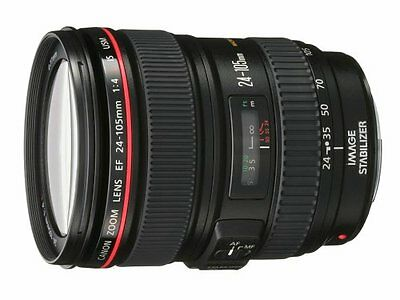 Canon EF 24-105mm f/4L IS USM Zoom Lens. Brand new!!  USA Warranty. White box