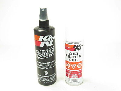 K&N Recharger Air Intake Filter Cleaning Kit Cleaner & Spray Oil 99-5000 NEW