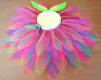 Pretty as A Flower Tutu for girls Bright colours excellent for dance or Festival