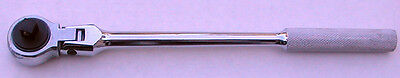 "3/8"" Drive Flex Head Ratchet Wrench, Chrome Vanadium"