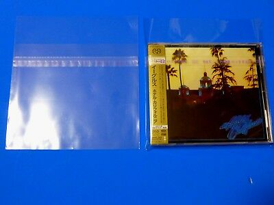 50 Japan Resealable Outer Plastic Sleeve Bag For Jewel Cd