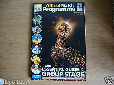 2010 World Cup Finals Official Programme MINT  In Stock