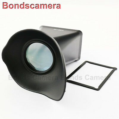 "3"" LCD Screen 2.8x Viewfinder Extender Finder for Sony NEX-5 3 3N 5R 5N camera"