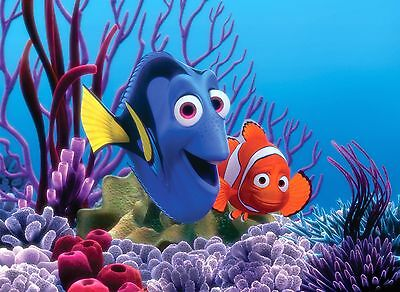 "Home Decor - Photos 8.5 x 11 Scrapbooking - ""Dory and Nemo"""