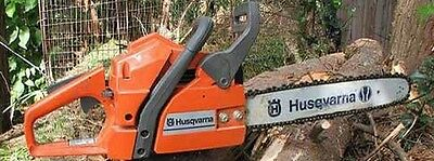 Husqvarna Chainsaw 340 345 350 Illustrated Parts List