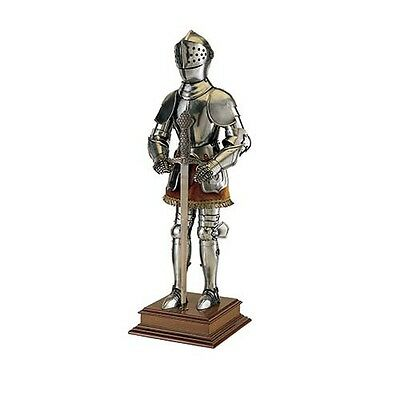 Miniature 16th C. Spanish Suit of Armor with Sword by Marto of Toledo Spain 911S