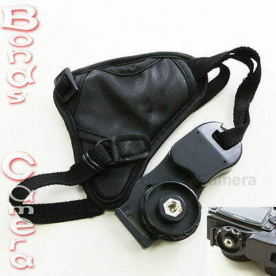 Wrist Camera Hand Strap Grip for DSLR SLR Canon Nikon Sony Pentax Fuji black