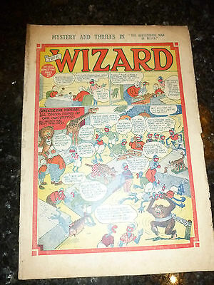 THE WIZARD Comic (1943) - No 1038 - Date 27/11/1943 - UK Paper Comic