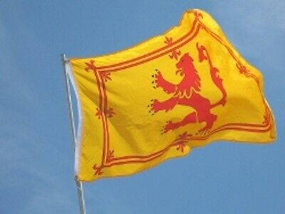 Giant Scottish Rampant Lion Royal Flag Of Scotland