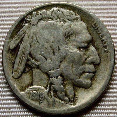 1919-S Buffalo Nickel * Better Date Coin * Nice and Original