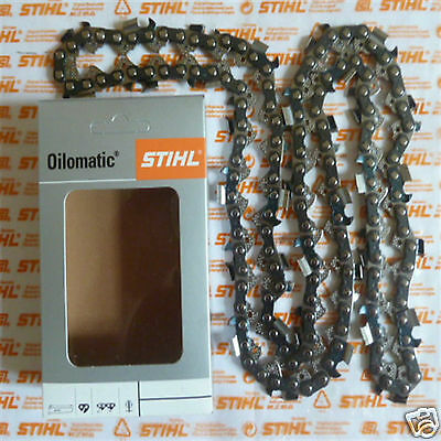 """20"""" 50cm Genuine Stihl RS3 Chainsaw Chain MS362 MS361 MS341 3/8"""" 72 DL Tracked"""