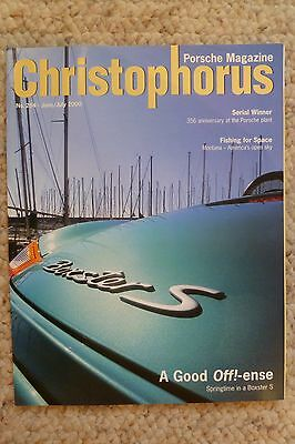 Porsche Christophorus Magazine English #284 June 2000 RARE!! Awesome L@@K