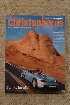 Porsche Christophorus Magazine English #287 December 2000 RARE!! Awesome L@@K