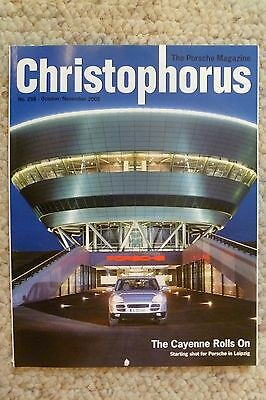 Porsche Christophorus Magazine English #298 October 2002 RARE!! Awesome L@@K