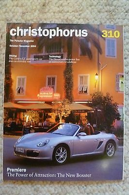 Porsche Christophorus Magazine English #310 October / November 2004 Awesome L@@K
