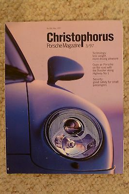 Porsche Christophorus Magazine English #266 May 1997 RARE!! Awesome L@@K