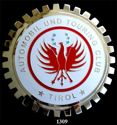 CAR GRILLE EMBLEM BADGES - TIROL TOURING CLUB