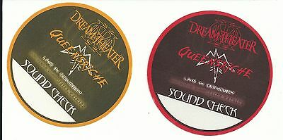 Dream Theater Backstage Pass Lot Of 2 Queensryche 2002