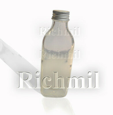 Single 100ml Culture Lab Glass Bottle Container Sample Flask Jar w/ Screw Cap