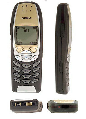 Nokia 6310i - Black  Cellular Phone Tri-band GSM Bluetooth T-mobile