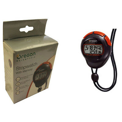 Oregon Scientific SL 210 Stoppuhr Stopuhr 30 Runden Memory