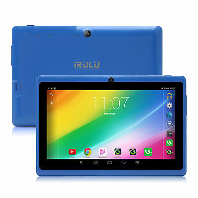 "8GB iRulu 7"" Android 4.2 Tablet PC Cortex A7 Dual Cameras w/ Keyboard & Earphone"