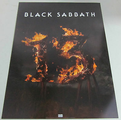 "Black Sabbath 13 * 2 Sided Promo Poster* 18"" x 24"" Ozzy Osbourne Thirteen"