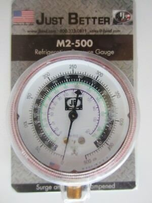 Just Better M2-500 Refrigeration Pressure Gauge JB (Qty Available)  NEW