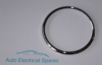 CLASSIC CAR CHROME BEZEL 84mm for SMITHS JAEGER CHONOMETRIC SPEEDO Pre-War