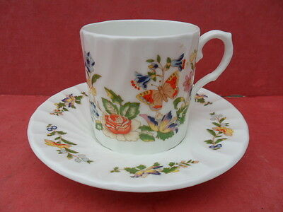 Aynsley, Cottage Garden, Coffee Cup & Saucer